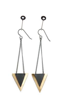 Isosceles Earrings [S/S 2011 Earrings] / Stone & Honey