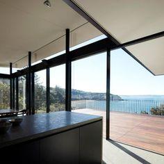 Whale Beach, Australia. Vitrocsa products: Sliding windows and doors. Architects: Tobias Partners www.vitrocsa.co.uk