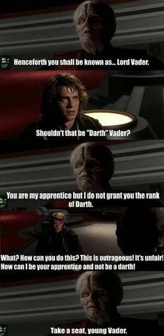 Memes of the Star Wars Prequels. Star Wars Meme, Star Wars Facts, Star Wars Comics, Star Wars Clone Wars, Prequel Memes, Star Wars Pictures, Lord, Love Stars, Marvel