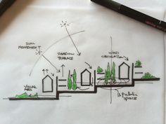 New housing project in Güzelbahçe / İzmir Tattoos, Tatuajes, Tattoo, Tattos, Tattoo Designs