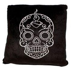 Muerte Sugar Skull Cushion