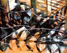 Futurismo / Balla / Flight of the swallows. Italian Painters, Italian Artist, Gouache, Futurist Painting, Giacomo Balla, Italian Futurism, Futurism Art, Modernisme, Oil Painting Reproductions