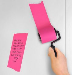 Roller Notes Sticky Note Roll Makes Notes Fun