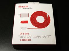 Nabi tablet accessory packaging