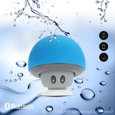 What kind of the Speaker do we need? It's the wireless one, whenever and wherever we are, we could listen the music. It should be fashion to fit my personality, it should be small and portable, it should be easy to use. Here the funny #BluetoothMushroomSpeaker helps you.