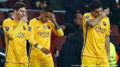 AKARPADINEWS.COM | BARCELONA menuai kekalahan beruntun dalam beberapa kali laga. Langkahnya melaju di Liga Champion harus pupus lantaran dijegal Atletico Madrid.    Pukulan telak pertama yang menghujam Barcelona