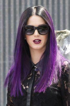 katy perry purple hair - Google Search