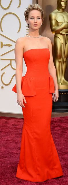 JLaw @ Academy Awards 2014 In Dior   LBV ♥✤