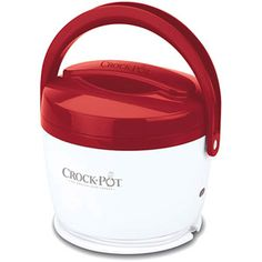 Crock-Pot 20-Ounce Lunch Crock Food Warmer -- HOW AMAZING IS THIS. Give it to kids or husbands and they will have warm lunches all winter long! Only $20 at walmart or target!