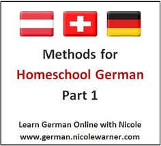 For those of you who homeschool your children, adding a foreign language like German is a fun way to work in multiple topics like math, music, and geography. Here is the first in a series of methods to help you develop the routine and how to apply German in other topics.