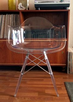 Rare Lucite Herman Miller Arm Shell Armshell by AntiqueApartment