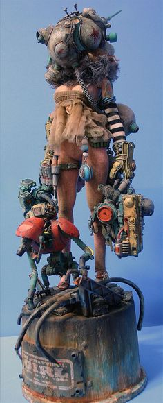 Post-apocalyptic dolls by Yeon Guun Jeong/BHEAD :                     This last figure is called Lady Zhiva Voda.  Via these  sites .  * Buy...