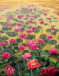 Lotus River by Rodulfo