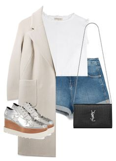 """""""Untitled #10858"""" by alexsrogers ❤ liked on Polyvore featuring Zara, Marc by Marc Jacobs, Boutique, STELLA McCARTNEY, Yves Saint Laurent, women's clothing, women, female, woman and misses"""