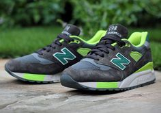 J.Crew x New Balance 998: Grey/Green
