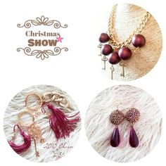 Twiniñas' Christmas Show @ The Athenian Callorhoe Exclusive Hotel ➡ ⬅ Christmas Shows, Jewelry Collection, Jewelry Accessories, Drop Earrings, Jewelry Findings, Dangle Earrings, Drop Earring