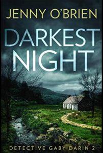 Darkest Night by Jenny O'Brien   Novel Meals Night Book, Dark Night, Audio Books, Thriller, Crime, Novels, Tours, This Or That Questions, Shit Happens