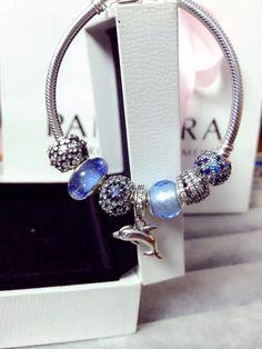 50% OFF!!! $199 Pandora Charm Bracelet. Hot Sale!!! SKU: CB01496 - PANDORA Bracelet Ideas