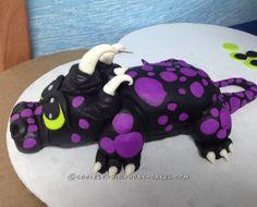 Coolest Baby Dragon Cake... Coolest Birthday Cake Ideas