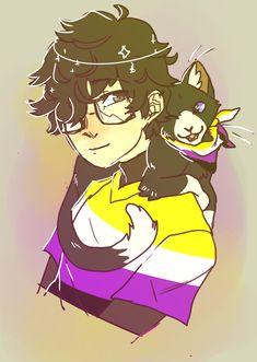 Unique Drawings, Art Drawings, Joker Comic, Trans Art, Little Memes, Emo Art, Cute Gay, Manga, Cute Pictures