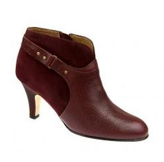The Vanessa in Bordeaux Tumbled Calf. On sale for $495. #AnyiLu #boots #fashion #shoes