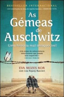 """""""As Gémeas de Auschwitz"""" de Eva Mozes Kor com Lisa Rojany Buccieri Non Fiction, Free Books, Good Books, Books To Read, Book Suggestions, Book Recommendations, Movies To Watch Teenagers, Kindle, Forever Book"""