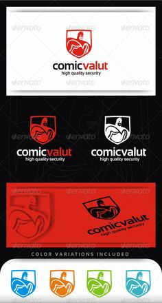 Comic Vault Logo Template  #GraphicRiver         The Pack Includes   100% vector   CMYK   File Format : EPS   Editable Text / Colors   Free Font: Sansation     ENJOY ! & don't forget to rate it.      Created: 5November12 GraphicsFilesIncluded: VectorEPS Layered: Yes MinimumAdobeCSVersion: CS Resolution: Resizable Tags: cmyk #colorful #comic #drape #elegant #hero #logo #mascot #modern #quality #red #security #tough #trust #vault #vector