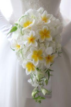 大好きなハワイのお花いっぱいのブーケ☆