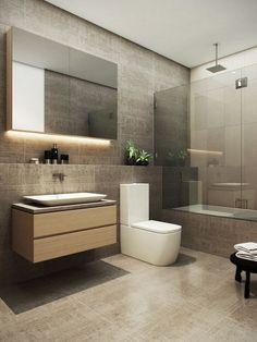Bathroom on Behance Washroom Design, Bathroom Design Luxury, Bathroom Design Small, Bathroom Layout, Modern Master Bathroom, Modern Bathroom Decor, Bathroom Designs India, Bathroom Design Inspiration, Behance