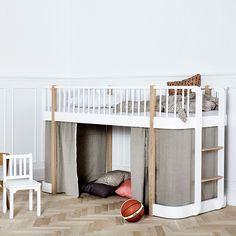Oliver Furniture halbhohes Hochbett