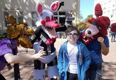 Five Nights at Freddys. Cosplay Costume. Comic con.