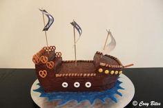 Pirate Ship Cake-2