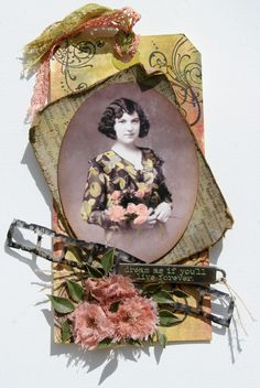 Tim Holtz - Idea-ology Collection - 12 x 12 Paper Stash - Kraft Resist