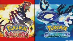 Pokemon Omega Ruby and Alpha Sapphire Download