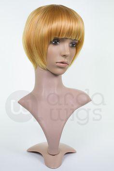 Priscilla CL060 (FRONT) Arda Wigs in crimson or dark copper for Natasha