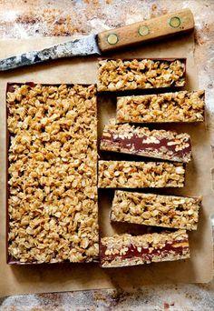 Coconut Oatmeal Chocolate Bars | Bakers Royale
