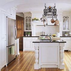 Classic White Kitchen ginapentz