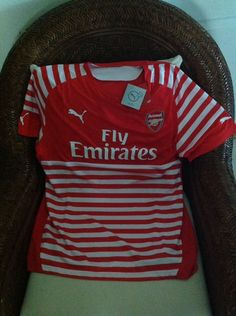Puma England Arsenal Fc Gunners Prematch Soccer/futbol Jersey NWT Size M Men's in Sporting Goods, Team Sports, Soccer | eBay