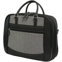 "Mobile Edge 16"" Herringbone Large Checkpoint Friendly Laptop Bag"