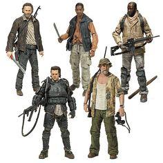 The Walking Dead TV Series 8 Action Figure Set - McFarlane Toys - Walking Dead - Action Figures at Entertainment Earth