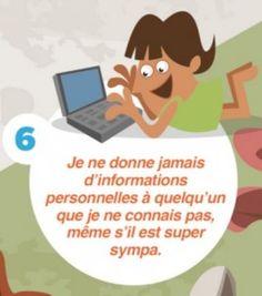 #Internet et #réseaux_sociaux : 2 #infographies de conseils pour les enfants et adolescents #NetPublic #EMI
