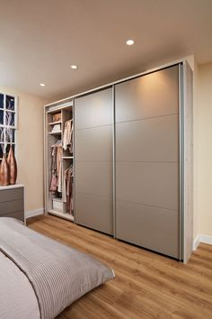 52 Popular Wardrobe Design Ideas In Your Bedroom. The most essential and important aspect of your bedroom includes your bed and bedroom wardrobe. Wardrobes give you extra storage capacity in your room. Bedroom Cupboard Designs, Room Design Bedroom, Luxury Bedroom Design, Bedroom Furniture Design, Home Room Design, Home Decor Bedroom, Bedroom Cupboards, Furniture Layout, Kitchen Design