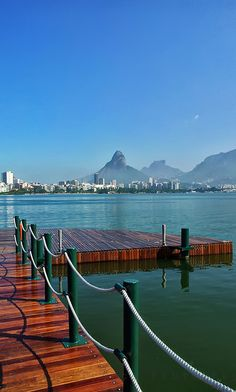 This post is just because... Rio I like you..... Rodrigo de Freitas Lagoon, Rio de Janeiro,Brasil