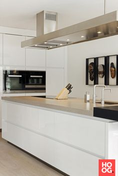 Luxe keuken design   keuken design   kitchen ideas   kitchen design   Hoog.design