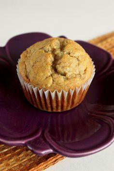 banana cinnamon muffin - breakfast
