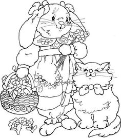 Many Easter Bunny patterns at this link.