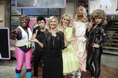 Sheryl Underwood, Sara Gilbert, Olivia Newton-John, Marie Osmond, Aisha Tyler, and Julie Chen