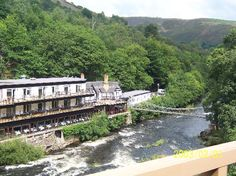 Chainbridge Hotel on Llangollen railway.