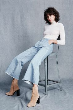 BDG Fairchild High-Rise Flare Jean - Urban Outfitters