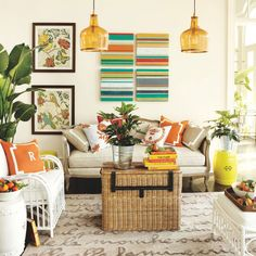 Whether you're looking for a new paint color, the perfect furniture accent or your next DIY project, here are some vibrant colors to spice up your space.